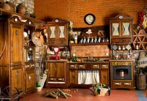Art. 453, Rustic kitchen with appliances