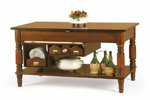 Art. 479, Extendable kitchen island table