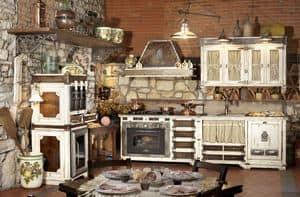Art. 577, Modular kitchen with appliances, steel top