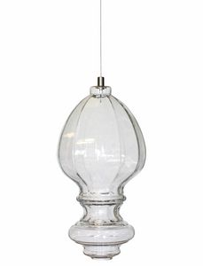Ceraunavolta AC134 7S INT, Glass lamp with classic design
