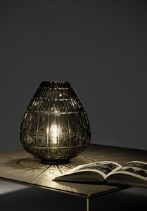 Reflex, Blown glass table lamp