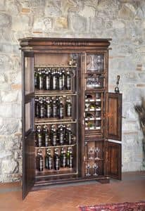 Art. 585, Wooden Wine Rack for taverns and pubs