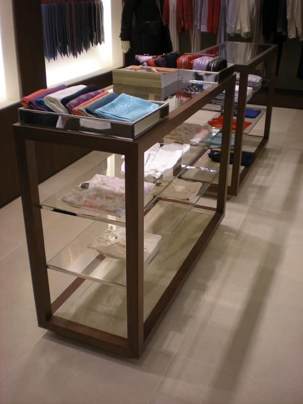 Custom display units, Custom furniture, for shop, boutique and atelier