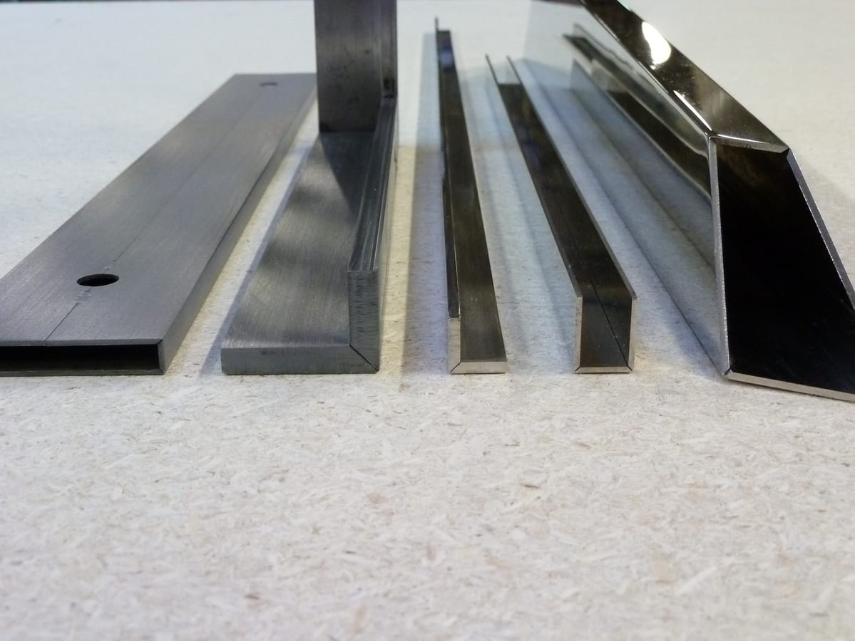 Metal profiles V-Cut, Metal profiles V-Cut suited for many installations