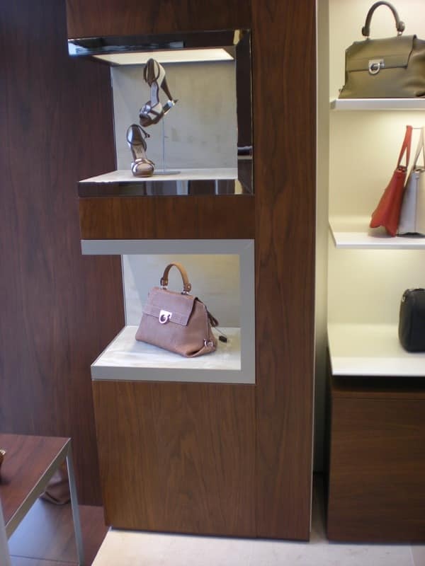 Display niches for shop interior, Customizable niches, for shops and boutiques furnishing