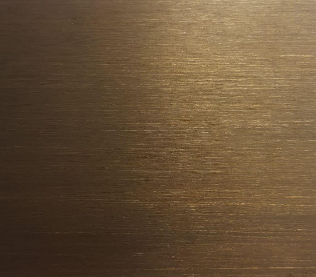 Ottone bronzato dark, Metal piece of furniture