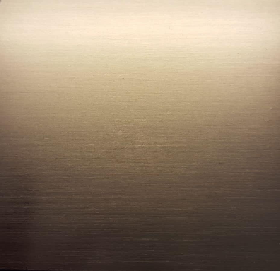 Satinato black inox, Customizable pieces of metal furniture