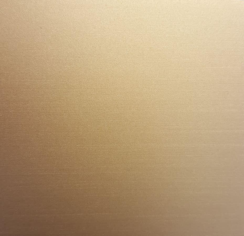 Satinato champagne, Custom fabrication in all metals
