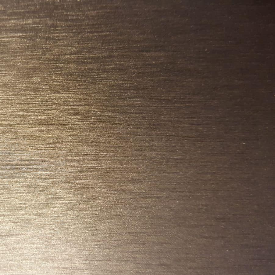 Satinato grigio materico, Metal piece of furniture