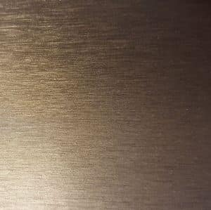 Satinato grigio materico, Metal piece of furniture