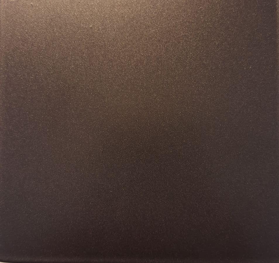 Satinato manganese, Metal piece of furniture