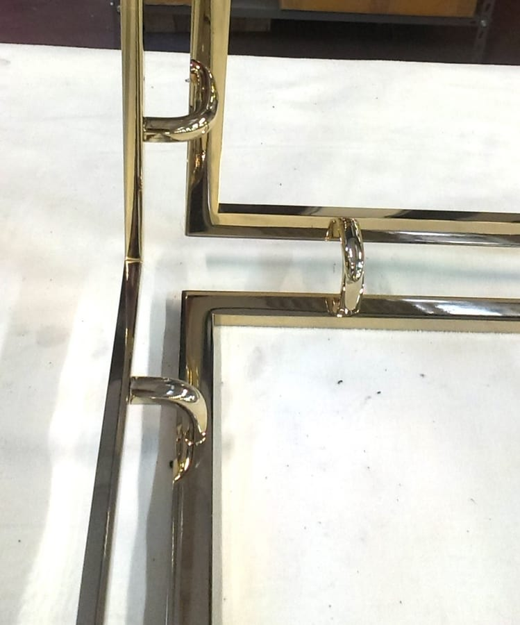 Metal frames for furniture, Structure bespoke to the customer design for indoor and outdoor