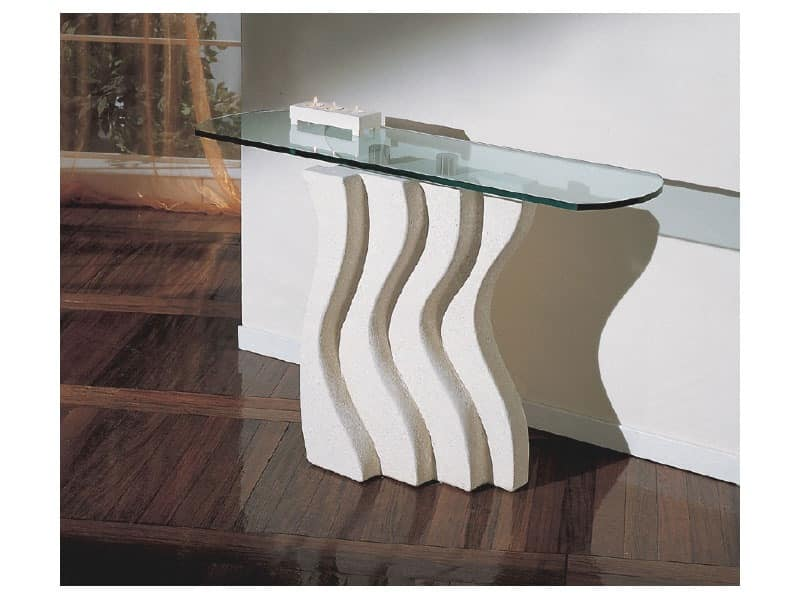 Onda, Decorated stone column for tables