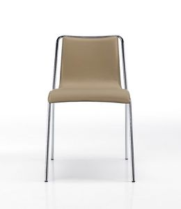 Air, Leather chair, with an essential design