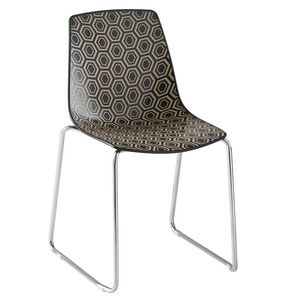 Alhambra ST, Chair with sled structure