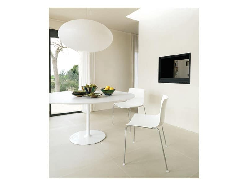 Catifa 53 0201, Formal metal chair, for restaurant design