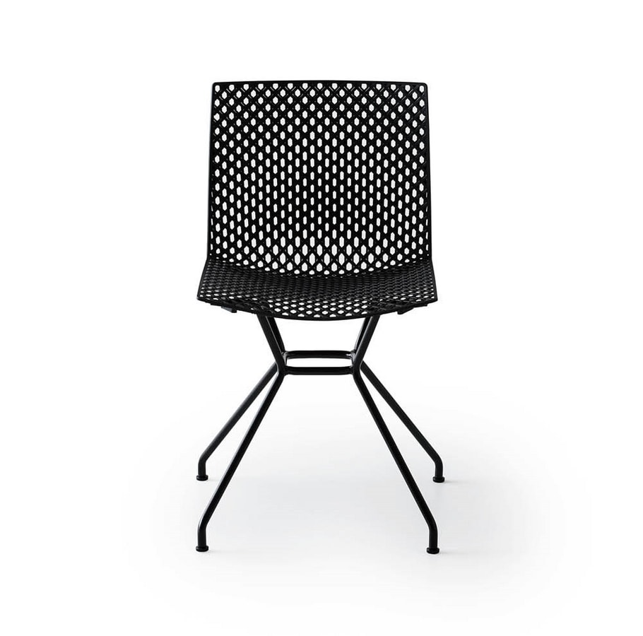 Fuller TC, Chair with perforated shell