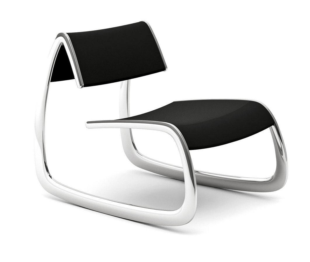 G-Chair, Design armchair with steel structure