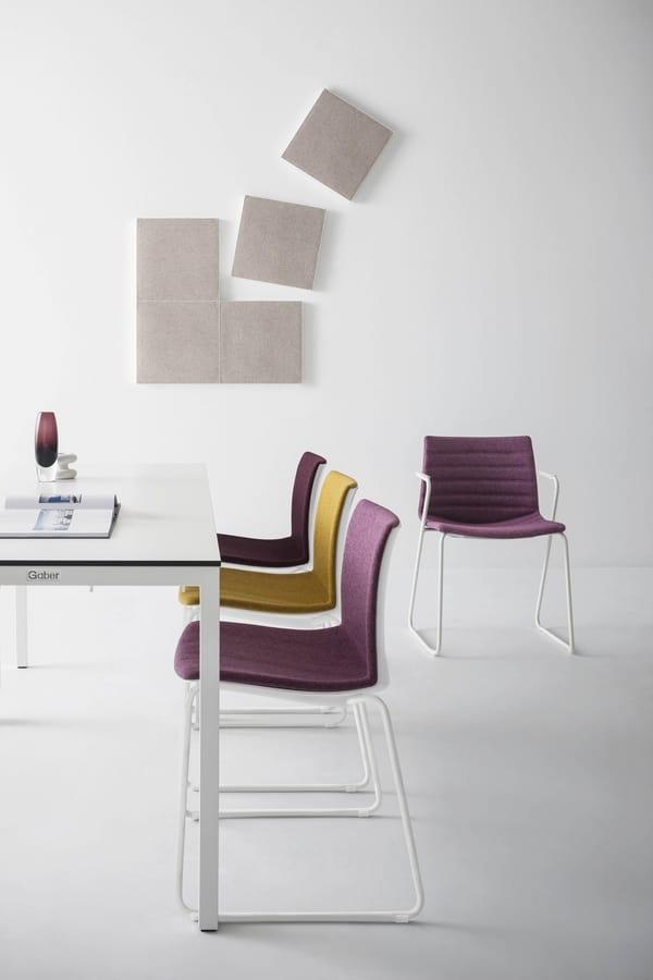 Kanvas 2 NA, White painted chair
