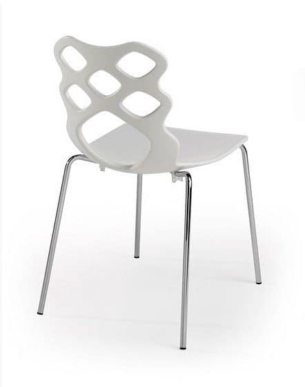 Marvelous Chair With Plastic Shell Modern Design Suitable For Caraccident5 Cool Chair Designs And Ideas Caraccident5Info