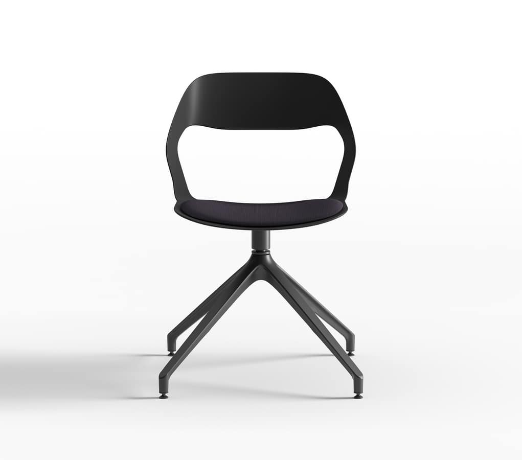 Mixis Air R_PB/SU, Swivel chair with padded seat