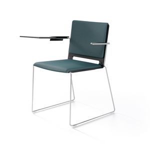 Multi con braccioli, Modern chair with armrests, for contract and home