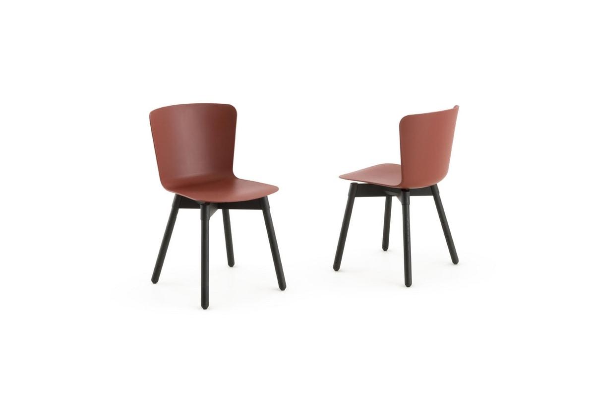 s24 martina, Chair with polypropylene seat