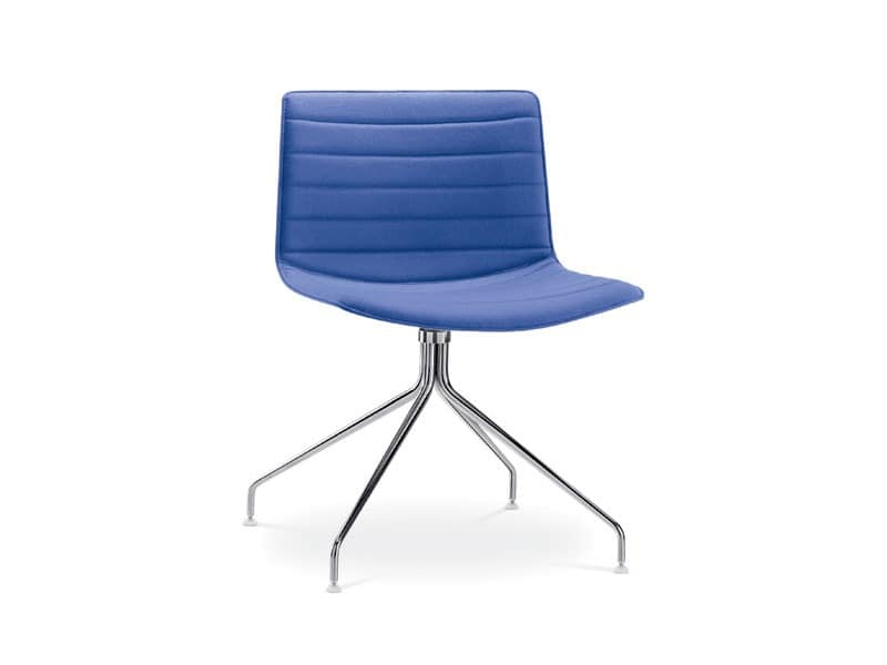 Catifa 53 0209, Design chair with padded swivel base, for hotels