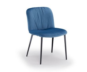 Effie-M, Upholstered metal chair