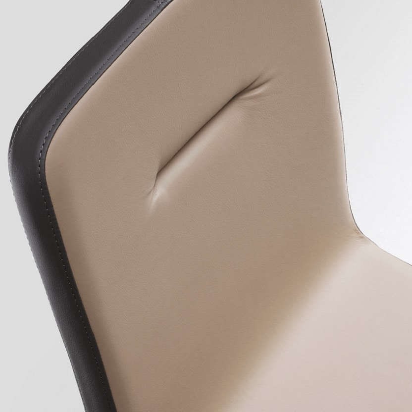 Sally-M, Chair with metal base