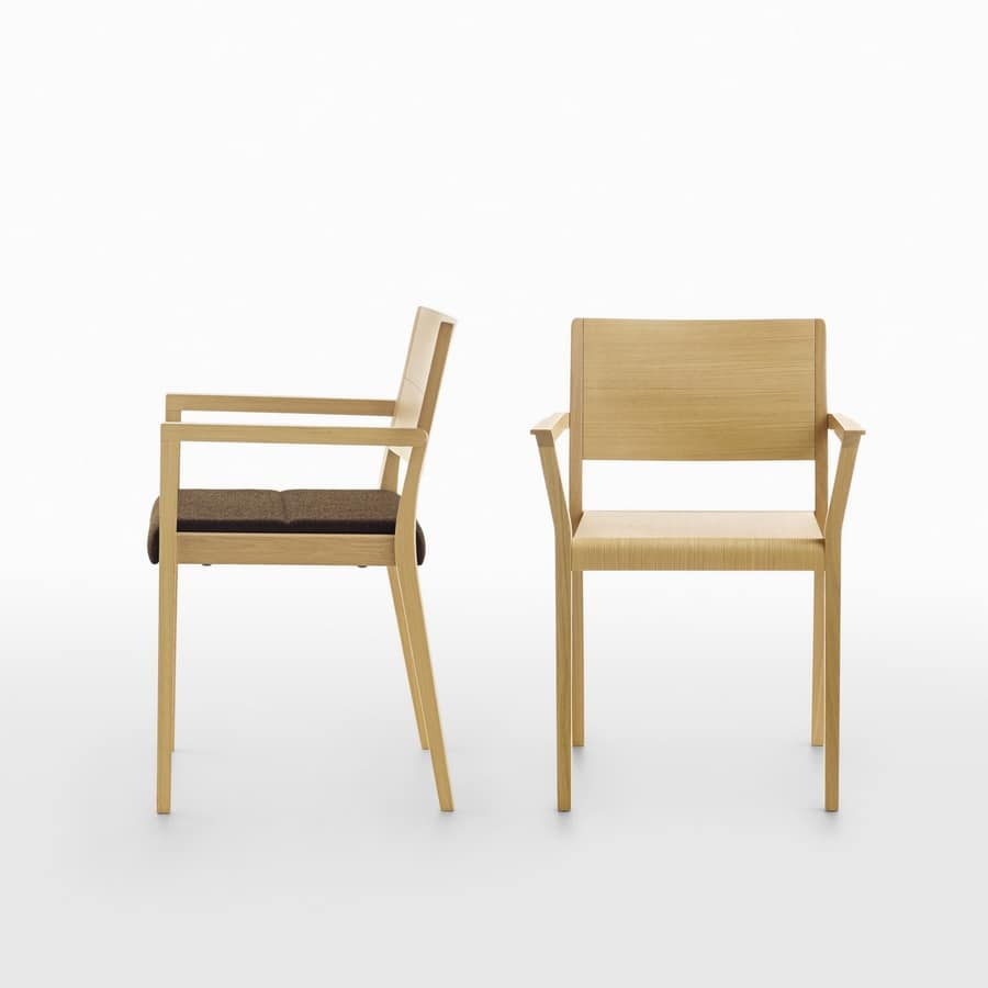 Esse PS/VS, Stackable wooden armchair