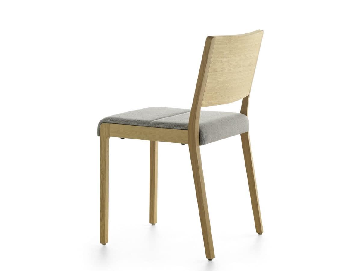 Stackable Wooden Chair Idfdesign