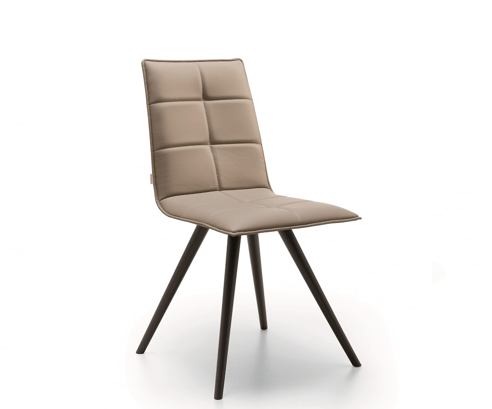 Iris-W, Chair with refined stitching