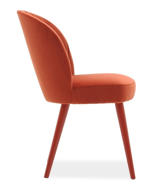Rose 03010, Chair upholstered for restaurants and hotels
