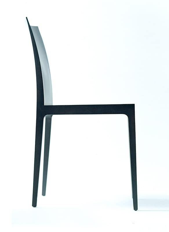 Anna RS, Minimal wooden chair, various versions, for Waiting Room