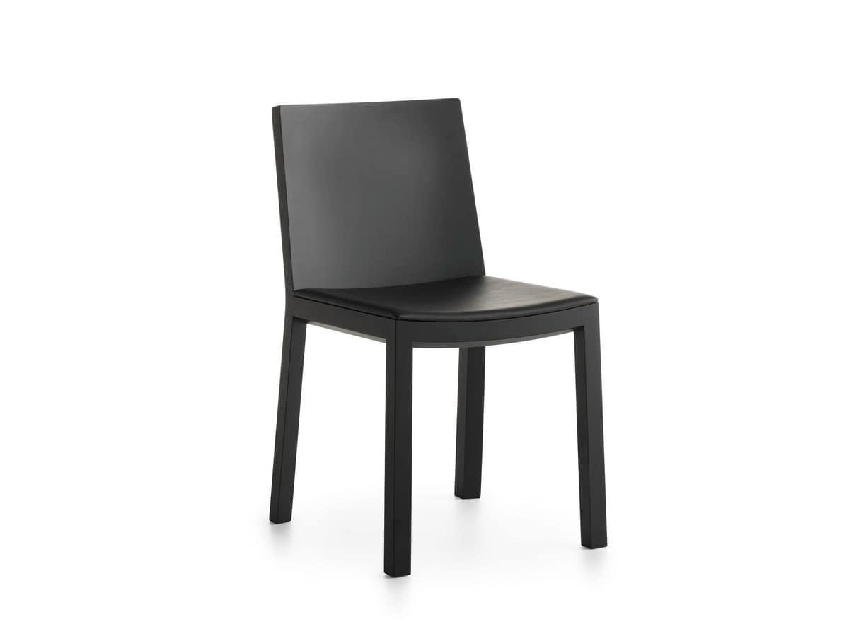 Bianca R VS/SU, Solid wood chair
