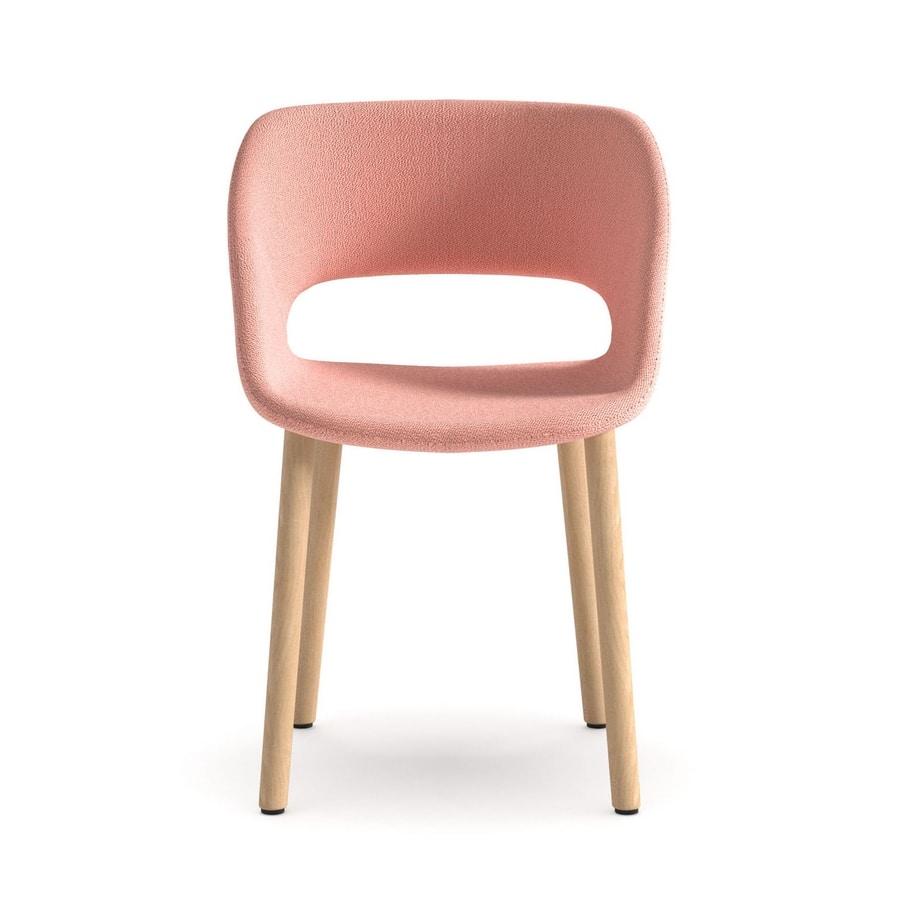 Kabira 4WL, Design chair in wood