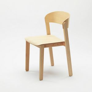 Pur, Stackable wooden chair with universal appeal