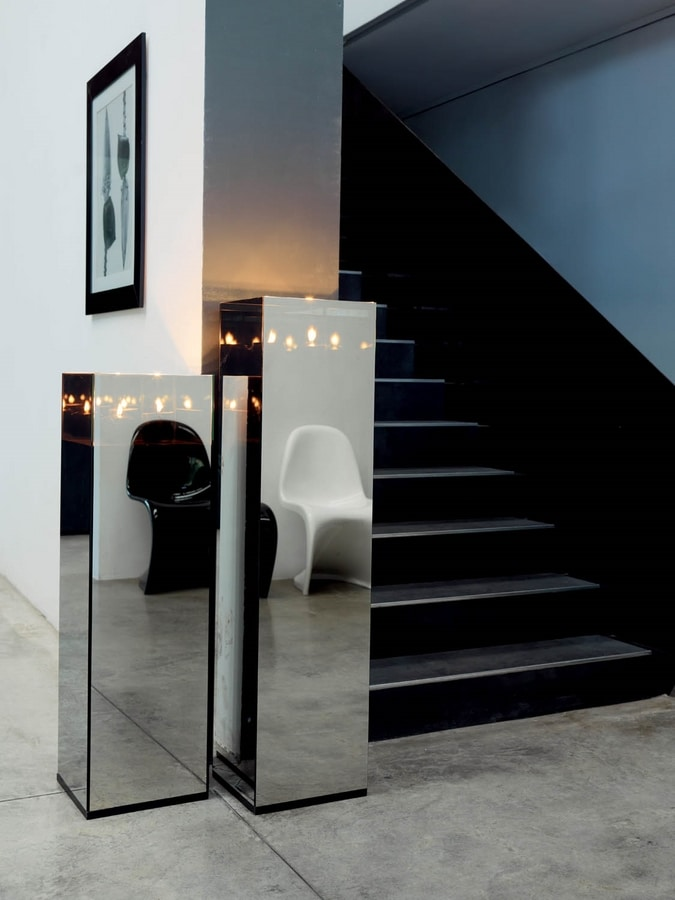Malou c 401 infinity, Mirror candle holder column