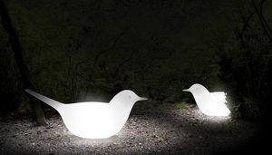 Paloma, Decorative object for garden, bird-shaped
