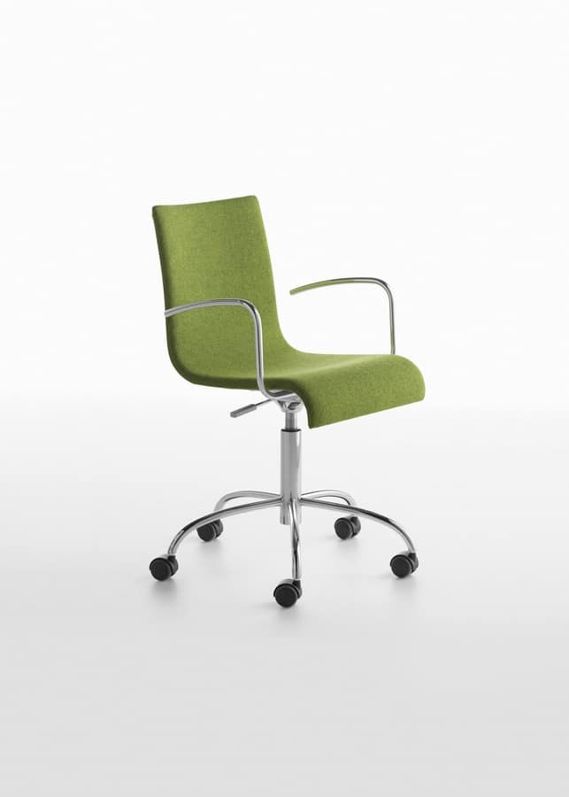 Asia PD/SW, Task chair for office, with adjustable height