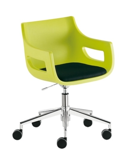 Day&Night, Swivel armchair for waiting