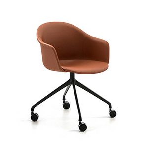 M�ni Armshell fabric HO 4, Home-office swivel armchair