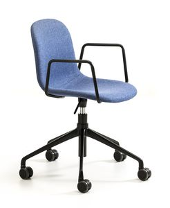 M�ni fabric AR-HO, Office chair with wheels