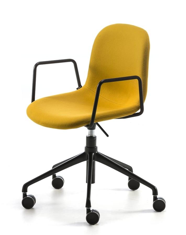 Máni fabric AR-HO, Office chair with wheels