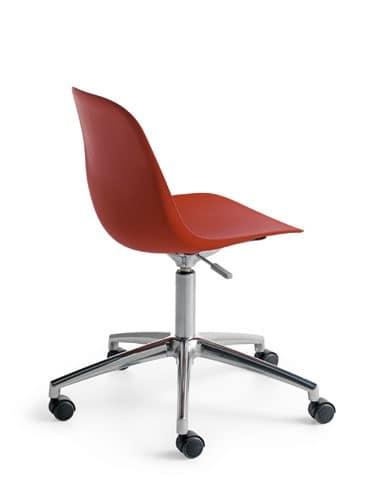 Pola Light R/SW, Swivel chair on castors