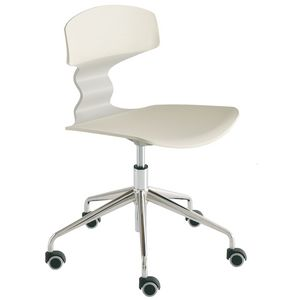 Tolo 5R, Office chair, swivel and with wheels