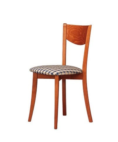 251, Easy chair, with circular seat, for dining room