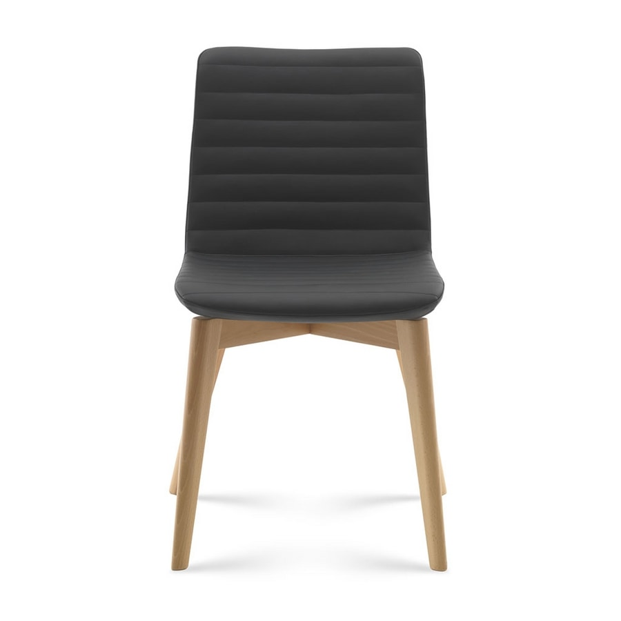 Angy, Padded wooden chair