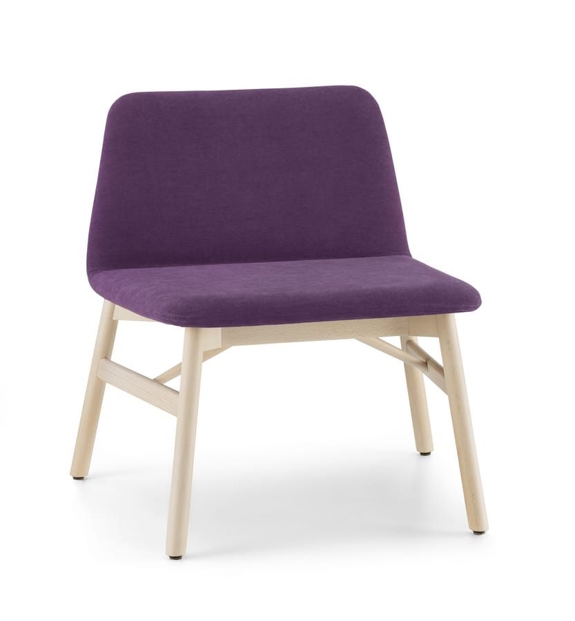 ART. 0038-LE BARDOT LOUNGE, Lounge chair with large seat